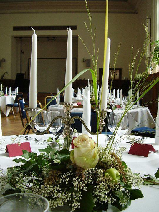 Beispiel: Details - Tischdekoration, Foto: Logenhaus.