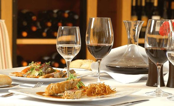 Restaurante golf Alcanada.