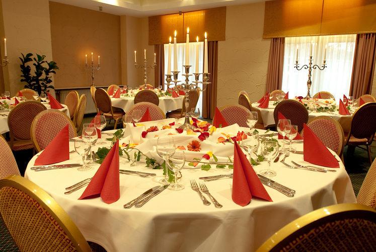 Beispiel: Banquett, Foto: Best Western Parkhotel Krone.