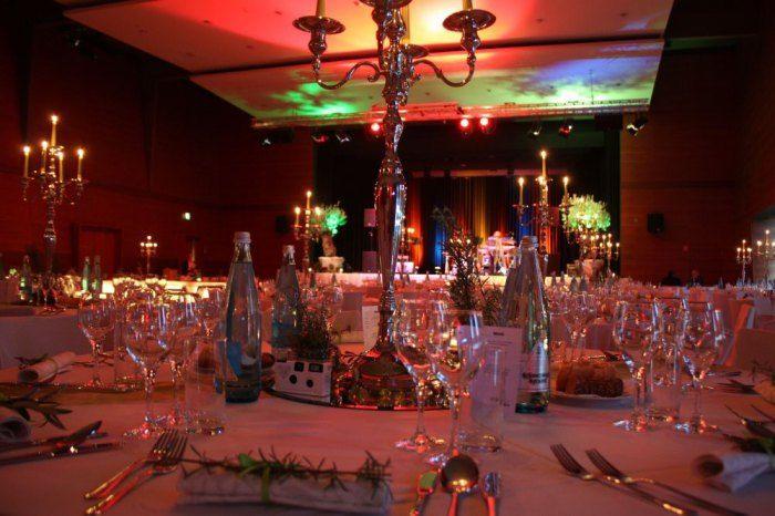 Beispiel: Hochzeitsdekoration, Foto: Delcanto.