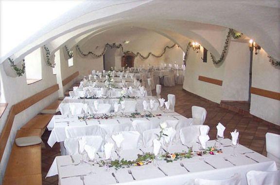 Beispiel: Gwölbekeller, Foto: Schloss Pertenstein.
