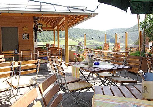Beispiel: Terrasse, Foto: AKZENT Hotel Höhenblick.