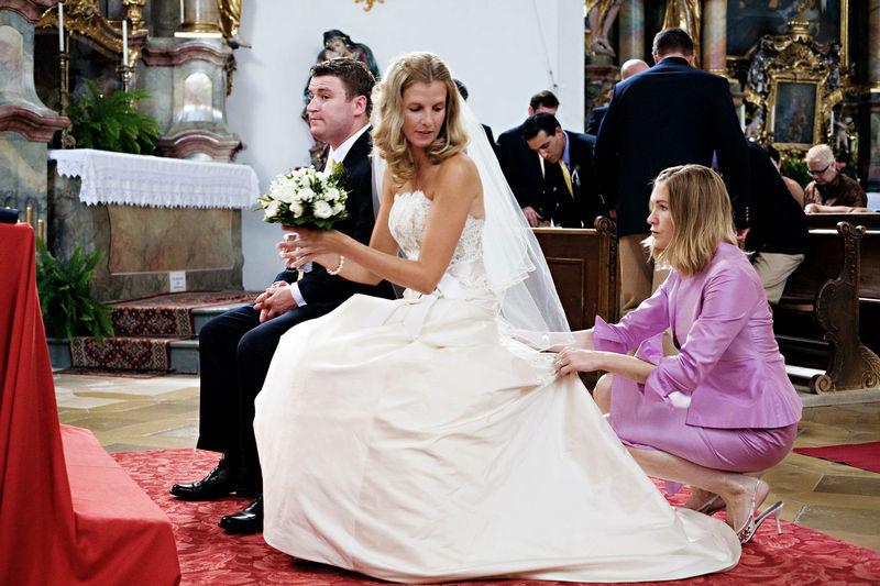 Beispiel: Weddingplannerin im Einsatz, Foto: Family Business.