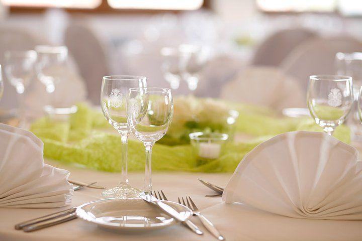 Beispiel: Tischdekoration, Foto: Hotel Schönbuch.