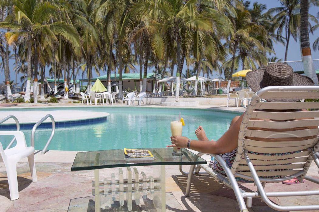Exclusivos clubs de playa en Cartagena (Tierrabomba Colombia)