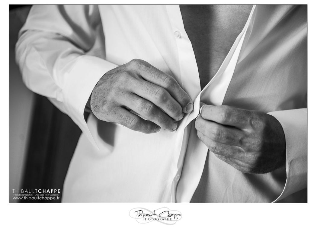 Détails de préataif du marié