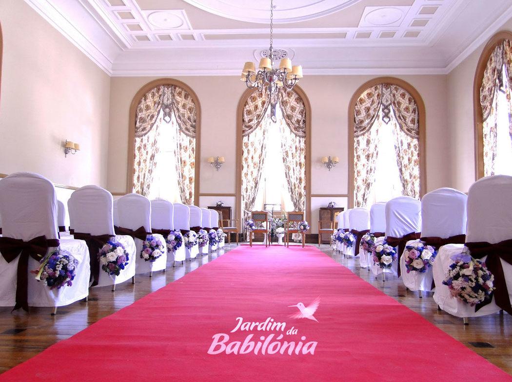 Decoração de Casamento Curia Palace Hotel