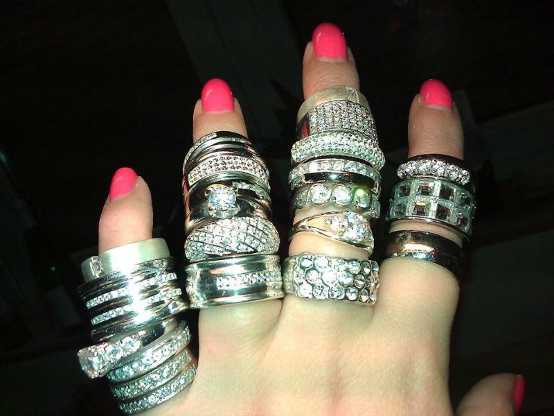Beispiel: Ringe, Foto: Ch. Abramowicz.