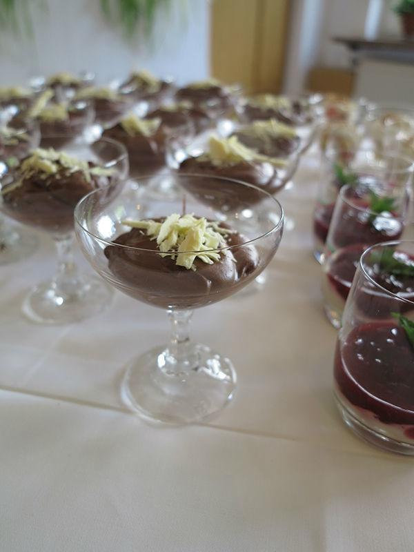 Beispiel: Dessert, Foto: Hotel Am Sonnenhang.