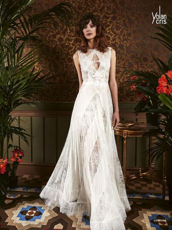 Sofisticación y sencillez unidos en un vestido etéreo.