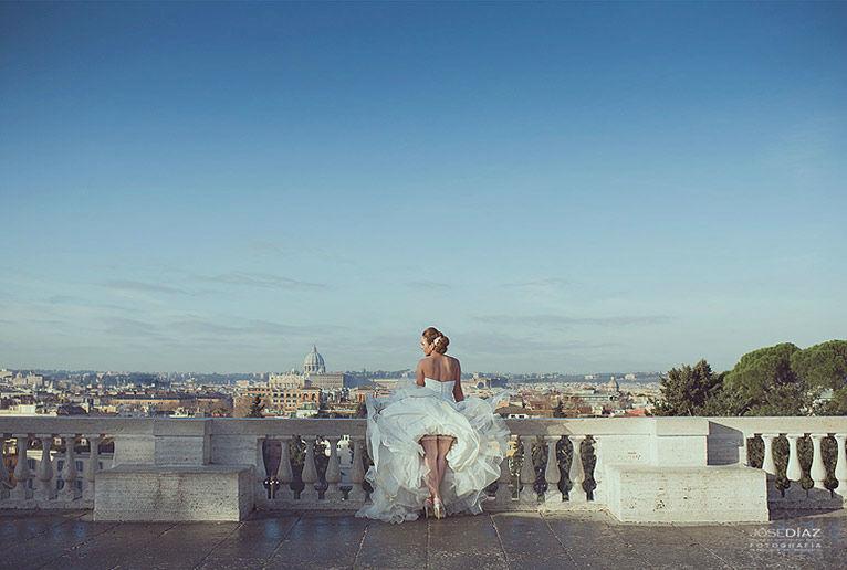 Fotografía de boda Roma
