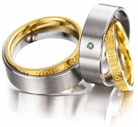 Beispiel: Der Ring für die Ewigkeit, Foto: Juwelier Dallinger.