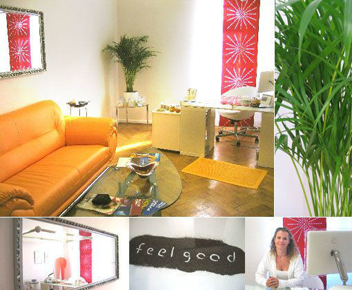 Beispiel: Empfang, Foto: Feelgood Salon.