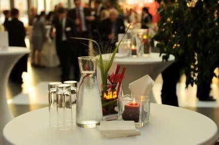 Beispiel: Tischdekoration, Foto: Schokoladenmuseum.