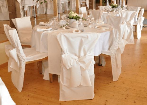 Beispiel: Wunderschöne Hochzeitsdekoration, Foto: Traumwerk.
