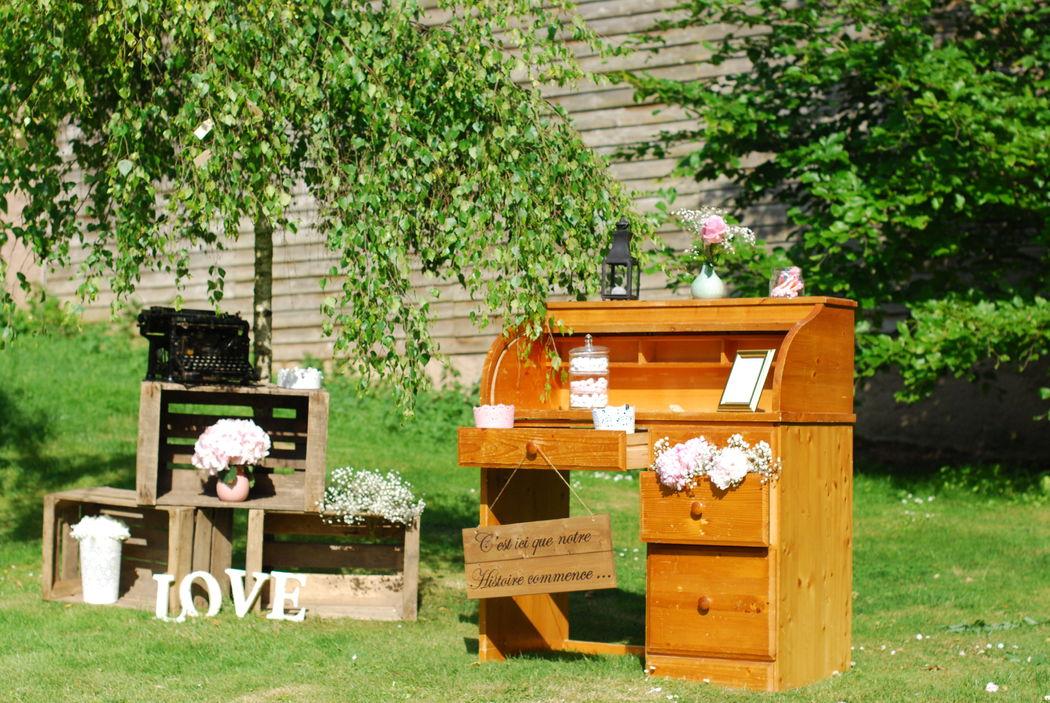 Ma Sweet Table  Location de décoration pour mariage Vintage,  Bohème- & tendance  Herault et Gard Mariage bohème chic-