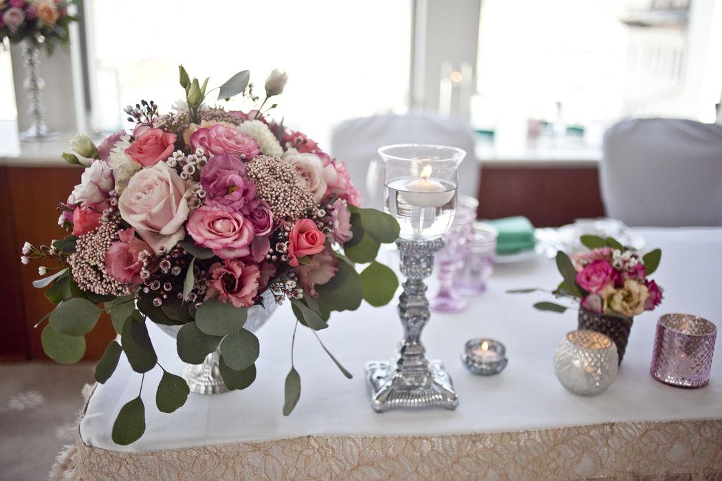 Коралловая свадьба Стивена и Кристины