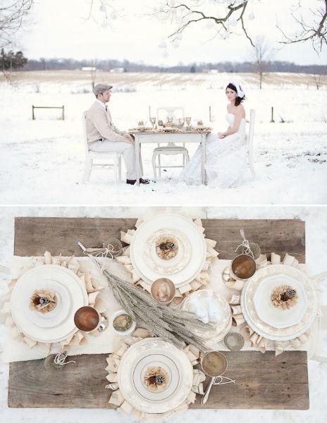 Para una boda redonda, Chic Weddings