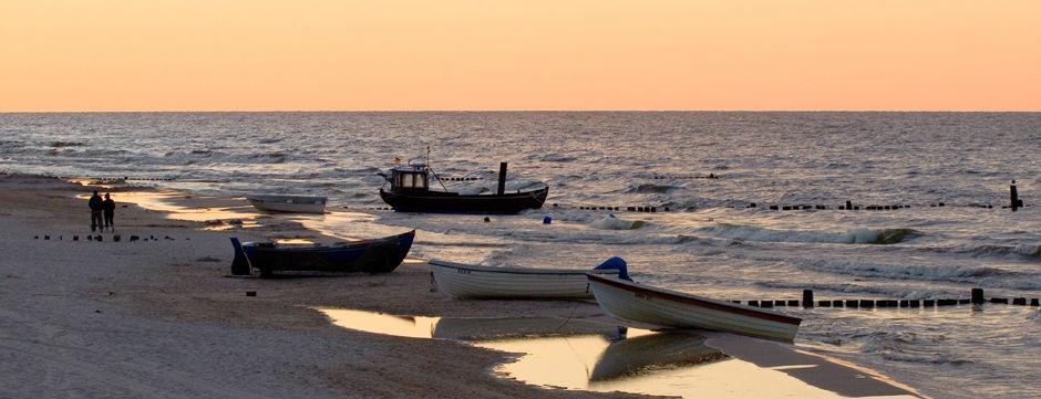 Beispiel: Sonnenuntergang am Strand, Foto: Seetel Hotels.