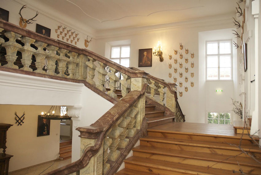 Feststiege, Foto: Schlosshotel Mailberg.