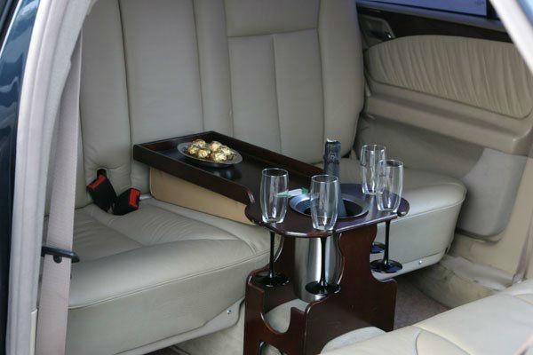 Foto: Innenaustattung der Limousine