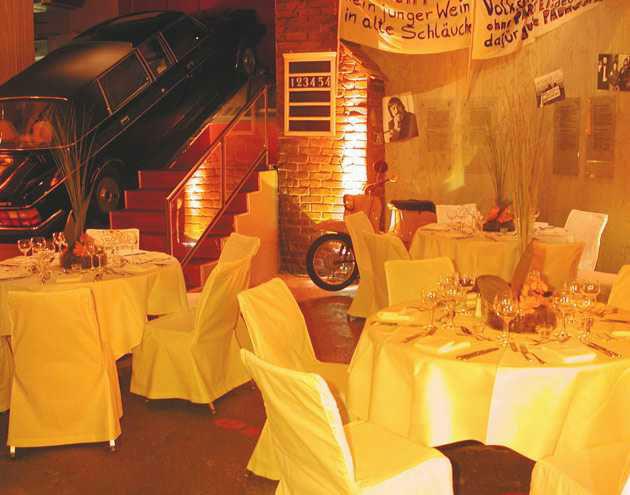 Beispiel: Organisation Ihres Hochzeitsessens, Foto: First Catering.