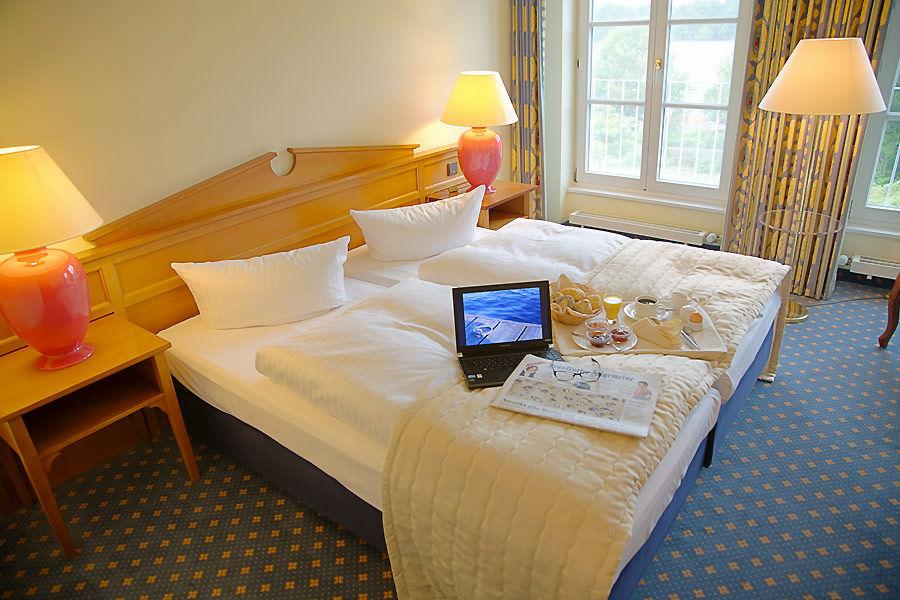Beispiel: Hotelzimmer, Foto: Seehotel Zeuthen.
