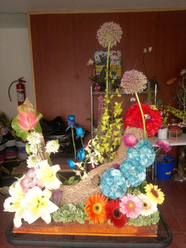 Florería Gie Bele ubicada en Puebla