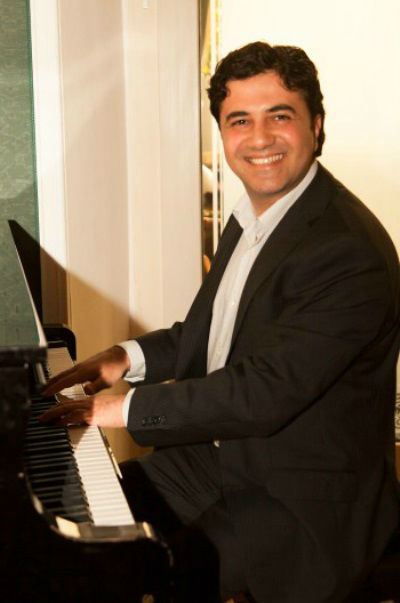 Beispiel: Pianist Alexander Aviv, Voice & Piano.