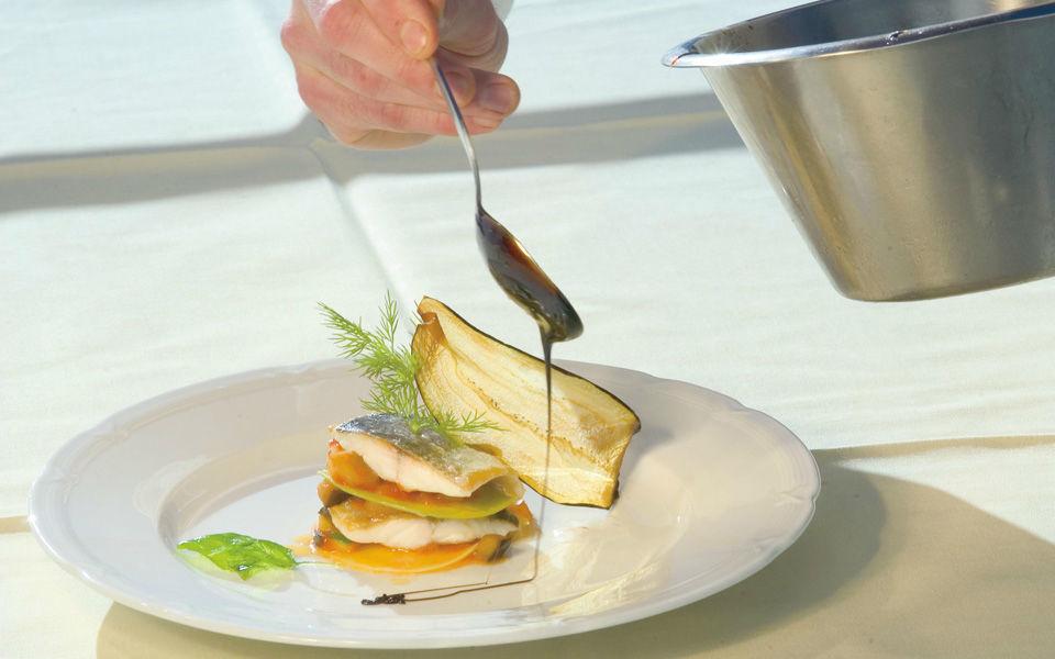 Beispiel: Exquisite Küche, Foto: Jagdschloss Kühtai.