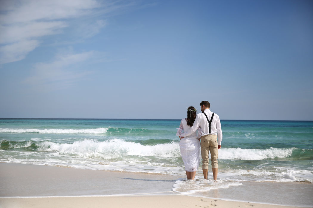 Heiraten auf Mallorca.  Mit Pretty Weddings wird euer Traum von einer Destination Wedding wahr.  Foto: Pretty Weddings