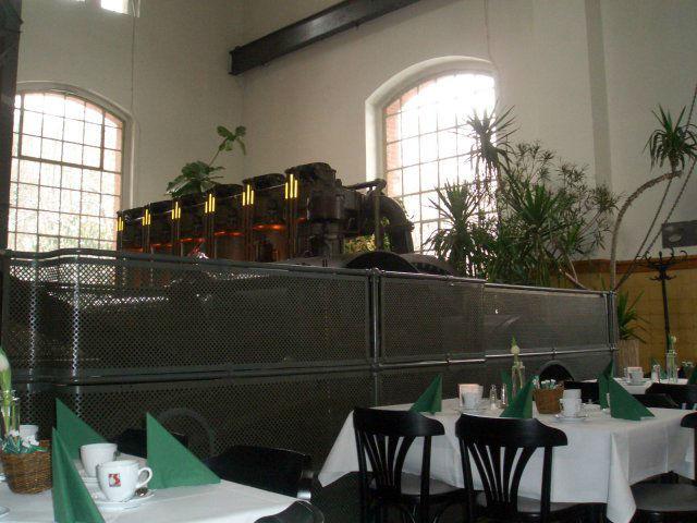 Beispiel: Innenraum - Bestuhlungsmöglichkeit, Foto: Alte Pumpe.