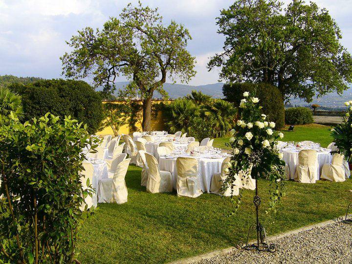Allestimento matrimonio - La Buona Tavola Catering&Banqueting Firenze