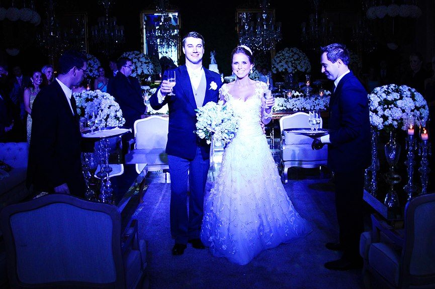 Casamento Nicole  e Miguel - Nuvem de Côco