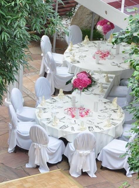 Beispiel: Historische Hochzeitslocation, Foto: ALLURE Decodesign.