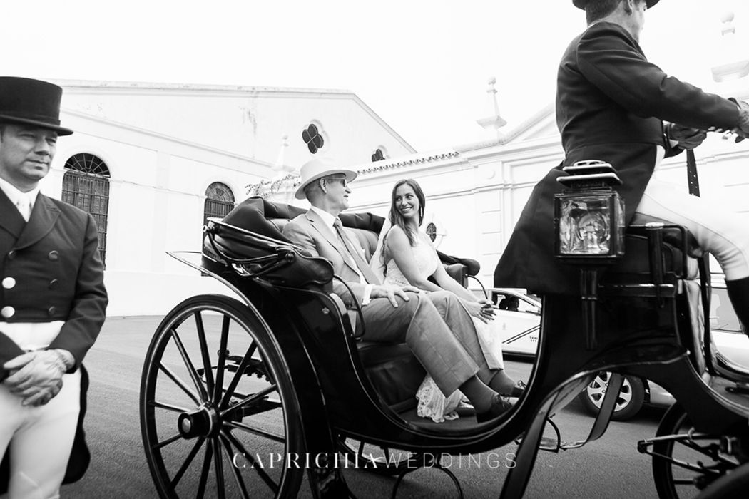 Arrival of the bride by Caprichia