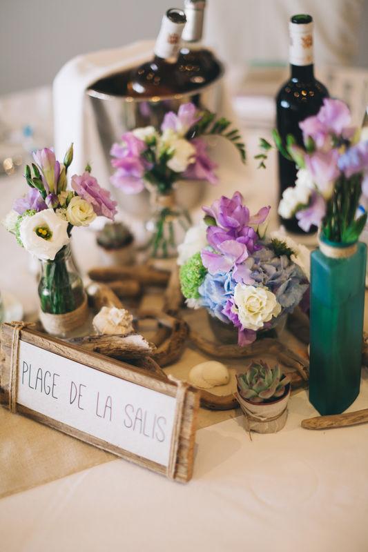 © Greg Reego photography Plan de table mariage plage côte d'azur Rock My Love