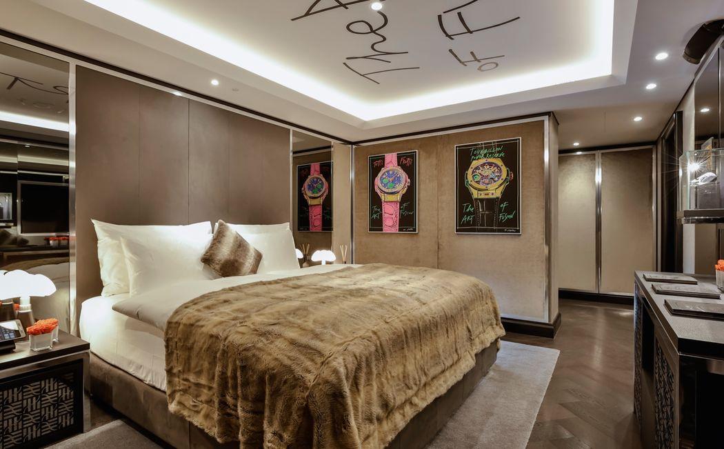 Hublot Suite, Bedroom