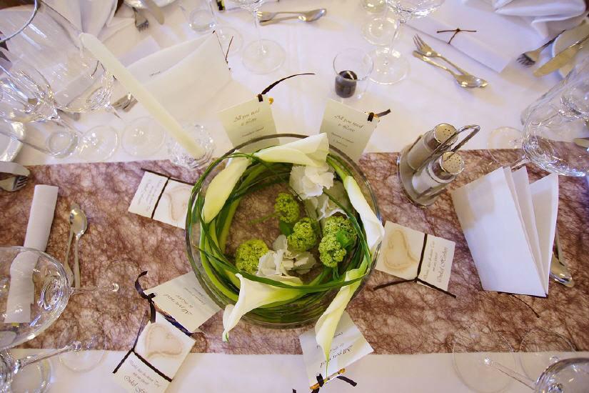 Beispiel: Tischdekoration, Foto: Kartause Gaming.