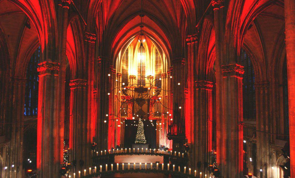 Binnen de Orangerie St. Josephkerk