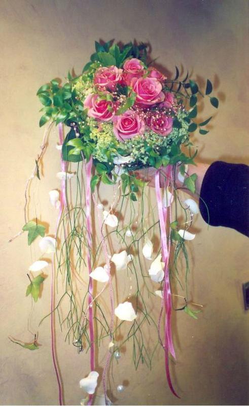 Beispiel: Brautschmuck, Foto: Blumen Reinhard.