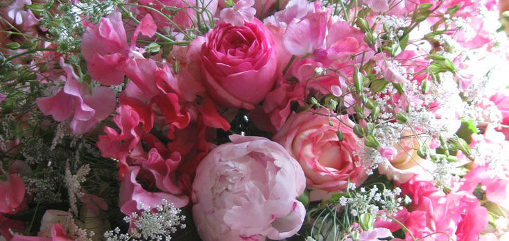 Beispiel: Ihr persönlicher Brautstrauß, Foto: Blumenbinder Trittmacher.