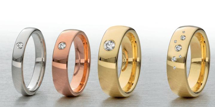Beispiel: Ringe nach Ihrem Geschmack, Foto: Juwelier Bichler.