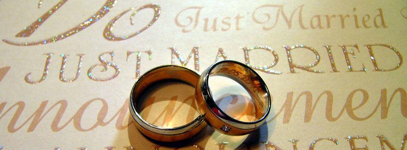 Beispiel: Trauringe, Foto: Sweethearts Wedding.