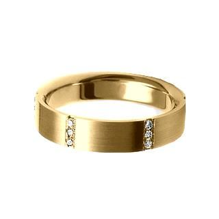 Verse Joaillerie | Alianças de Casamento, Anéis de Noivado Anel de ouro com diamantes - VERSE Joaillerie