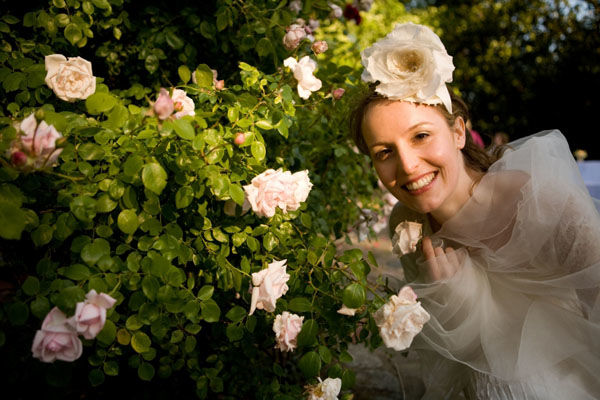 Beispiel: Braut, Foto: Friederike Fiebelkorn.