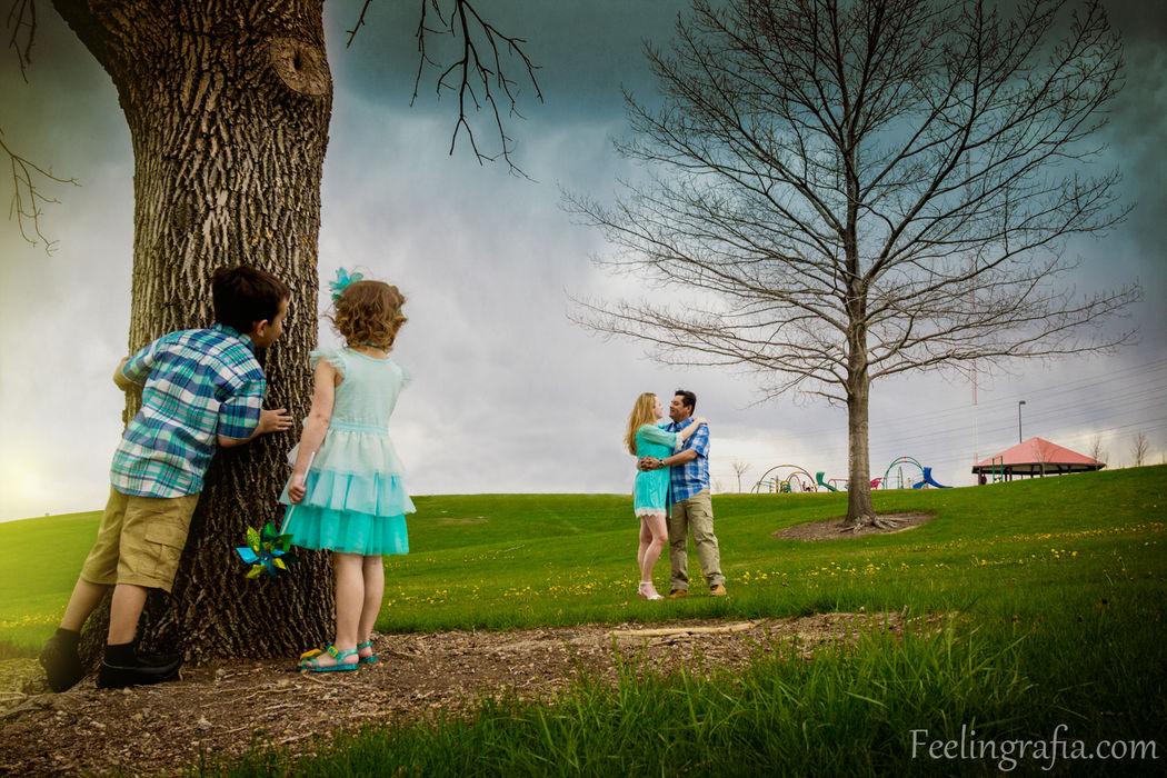 Family Portrait in Denver, Colorado - EE.UU.