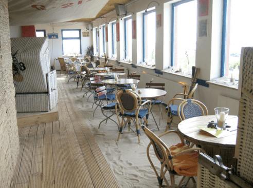 Beispiel: Restaurant, Foto: Strandoase Surendorf.