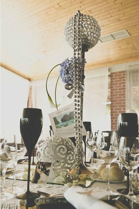 Pormenor decoração copo d'agua