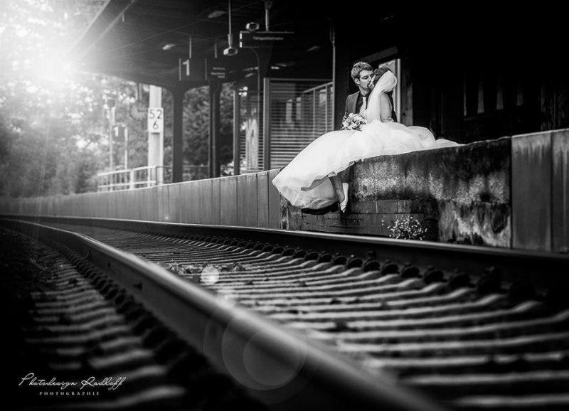 Beispiel: Innovative Hochzeitsfotografie, Foto: Photodesign Radloff.